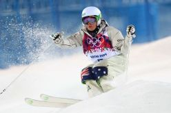 Britt Cox competing in Sochi Source: www.abc.net.au